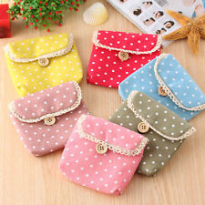 Easy Carry New Cute Polka Dot Sanitary Pad Holder Sanitary Napkin Towel Pocket
