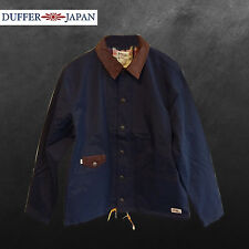 DUFFER JAPAN DARK NAVY OZZY JACKET - BRAND NEW/TAGS RRP £150 - SAVE 80% OFF
