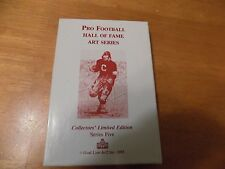 Twelve (12) UNSIGNED Series Five Goal Line Art Cards,Landry, Walsh, Fouts