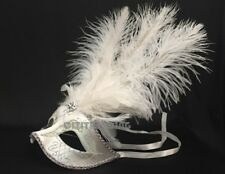 Fancy Feathered Masquerade mask Pink Blue Black dress Surprise birthday party