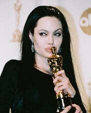 ANGELINA JOLIE COLOR KISSING AWARD PHOTO OR POSTER