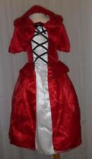 Girls LITTLE RED RIDING HOOD Costume Size 6-8 10 NWT Dress Up Petticoat Cape