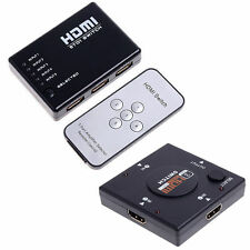 3/5 Port 1080P HDMI Switch Remote Video Switcher Splitter For PS3 HDTV DVD SL