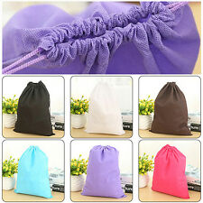 Home Laundry Shoe Travel Pouch Tote Drawstring Storage Bag Organizer Dainty