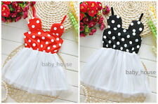 1pcs baby infant toddler girls clothes summer dress party holiday braces dress