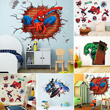3D Removable View Wall Sticker Vinyl Decal Art Home Kids Boys Room Decoration