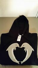New ODD FUTURE * OFWGKTA * Zumiez Hoodie Hooded Sweatshirt ~Dolphins