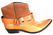 Men's shoes boots chaussures bottes homme cuir western EVAN taille 33 au 46