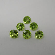 Natural Peridot Round Calibrated Size Green Color Top Quality Loose Gemstone