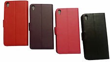 Pu Leather Wallet Book Flip Case Pouch For Sony xPeria Experia Mobile Phones