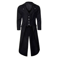 Banned Frock Tail Steampunk Coat ALL SIZES - Steampunk Trench Coat, Costumes