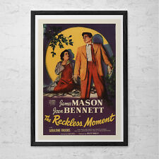 CLASSIC MOVIE POSTER -  Reckless Moment Movie Poster - Retro Movie Poster Classi