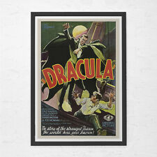 DRACULA MOVIE POSTER - Bela Lugosi Poster - Vintage B-Movie Poster - Cult Movie