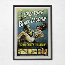 RETRO MOVIE POSTER - Creature from the Black Lagoon - Vintage B-Movie Poster - C