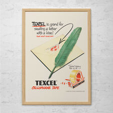 VINTAGE OFFICE SUPPLIES Ad - Retro Office Art Ad - Retro Stationary Poster Offic