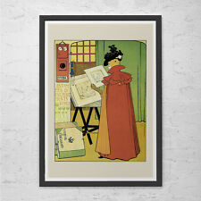 Belle Epoque Poster Print - Fine Art Poster Reproduction High Quality Giclee Pri