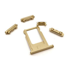 3Colors Sim Card Tray Holder Side Power Button Mute Switch Volume for iPhone 6