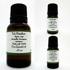 Tick Repellent 100% Pure Essential Oil Blend Buy 3 get 1 Free