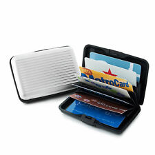 Womens Mens New Metal Aluminum Wallet for Cash Business/Credit Card Holder RFID