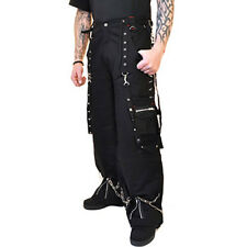 Criminal Damage Trousers Black Red Hammer Camo Bottoms Branded Pants Baggy Jeans