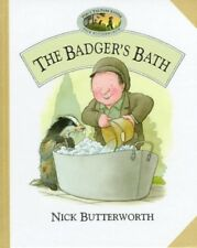 The Badgers Bath (Percy the Park Keeper) (Percys park), Butterworth, Nick, Used;
