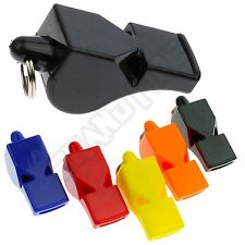 Classic Sport Whistle + Lanyard Referee Lifeguard Rugby Football Coach Shooting