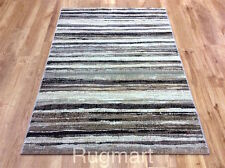 Brown Beige QUALITY Modern Contemporary Abstract Design Easycare RUG M-XL 30%OFF
