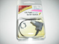 RV - 12 Volt Push Button / On & Off Switch - Great for Power Roof Vents & More