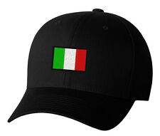 Italy Flag Symbol Italian Pride Embroidered Hat 4 Colors
