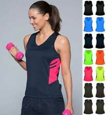 Ladies Tasman Singlet 2111 | Neon/Fluro Colours | Sports, Team, Club, Uniform