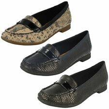 Clarks Ladies Smart Slip Ons Atomic Lady