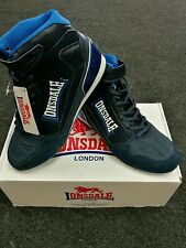 Lonsdale Adults Cagney Fight-Training  Velcro-Lace Boxing Boots Red/Black.