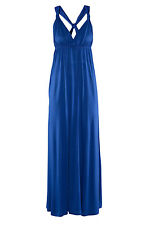 Black Cool Summer Sleeveless Party Maxi evening Dress Sexy Gown women LC6253