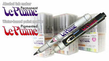 Marvy Le Plume Permanent (Alcohol based ink) individual marker:Blue Violet range