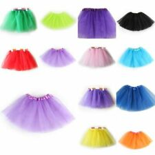 Chic Girls Kids 3Layers Tutu Ballet Dance Dress Baby Toddler Skirt Costumes 2-7Y