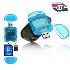 USB 3.0 TF/SD/SDHC/SDXC Up to 5Gbps High Speed Memory Card Reader Memory Adapter