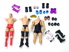 29 Piece Custom Fodder Lot WWE Mattel Elite Basic Wrestling Figure Parts IV