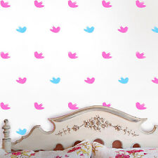 Flying birds cute kids nursery wall stencil, home decorating painting stencils