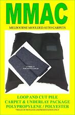 MOULDED CAR CARPETS (F28) FORD TELSTAR (AR) 4 DOOR 83-85 F& R & UNDERLAY