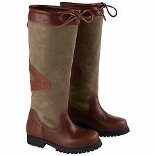 TOGGI WOMENS HAMILTON COUNTRY BOOTS - NEW LEATHER WALKING CASUAL BOOT