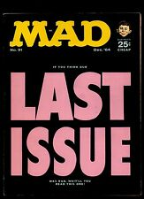MAD MAGAZINE #91 VG+    1964 EC