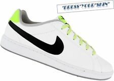 NIKE Court Majestic Leather - Gr. 44,5 - Weiss-Gelb - Waffle Air Max Free