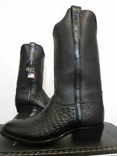 Black Jack Boots Alligator Belly & Venus Calf Mens Cowboy Boot 524, New In Box!