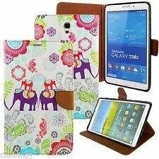 "PU Leather Folio Stand Cover Case For Samsung Galaxy Tab 4 10.1"" SM-T530 ELEP"