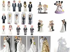 Culpitt Bride & Groom Wedding Cake Toppers - NON EDIBLE
