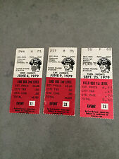 Pittsburgh Pirates 1979 Ticket Stubs YOU PICK ONE GAME World Series Stargell
