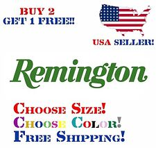 Remington Decal Sticker Free Shipping Buy 2 Get 1 Free!!