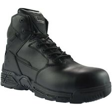 Magnum Stealth Force 6.0 Leather CT CP Safety Boots - Black