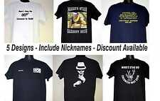 Personalised Printed Stag Night T-Shirts 5 Designs Include Nicknames