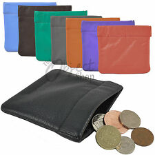 Mala Leather Snap Top Coin Purse Pouch Tray Unisex Change Wallet Holders